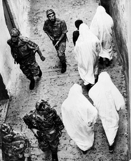 Schlacht um Algier : Bild Gillo Pontecorvo