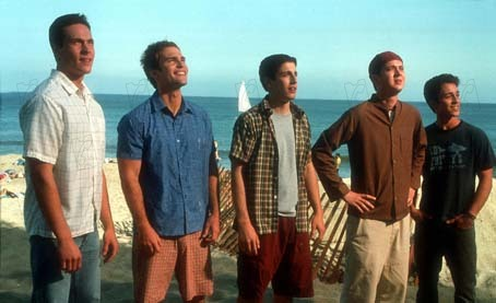 American Pie 2 : Bild Chris Klein, Eddie Kaye Thomas, James B. Rogers, Jason Biggs, Seann William Scott