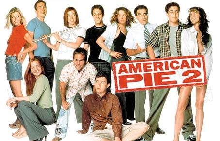 American Pie 2 : Bild Chris Klein, Eddie Kaye Thomas, James B. Rogers, Jason Biggs, Seann William Scott
