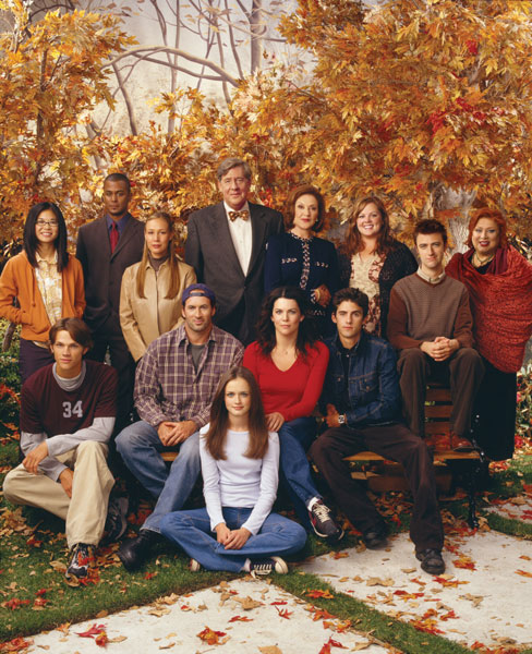 Gilmore Girls : Bild Alexis Bledel, Edward Herrmann, Jared Padalecki, Keiko Agena, Kelly Bishop