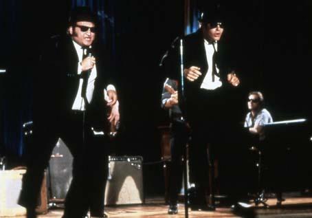 Blues Brothers : Bild Dan Aykroyd, John Belushi, John Landis