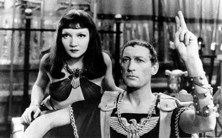 Cleopatra : Bild Cecil B. DeMille, Claudette Colbert, Warren William