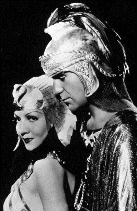 Cleopatra : Bild Cecil B. DeMille, Claudette Colbert, Henry Wilcoxon