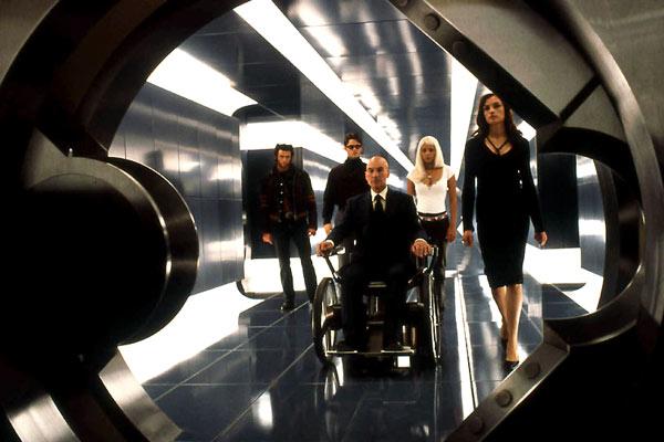 X-Men : Bild Famke Janssen, Halle Berry, Hugh Jackman, James Marsden, Patrick Stewart