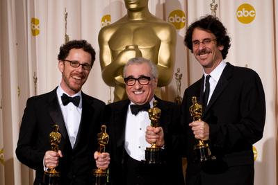 Bild Ethan Coen, Joel Coen, Martin Scorsese