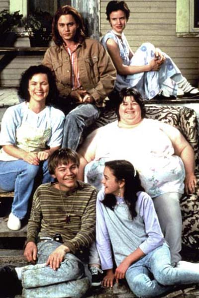 Gilbert Grape - Irgendwo in Iowa : Bild Darlene Cates, Johnny Depp, Juliette Lewis, Laura Harrington, Leonardo DiCaprio