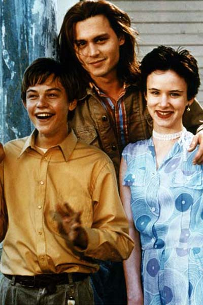 Gilbert Grape - Irgendwo in Iowa : Bild Johnny Depp, Juliette Lewis, Leonardo DiCaprio