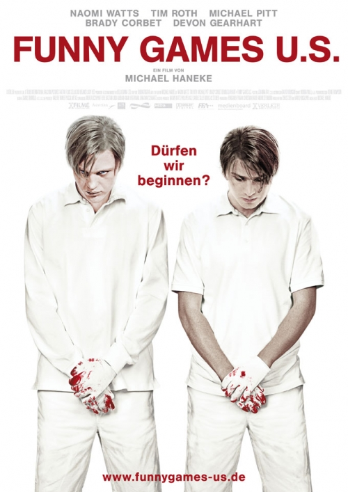 Funny Games U.S. : Kinoposter