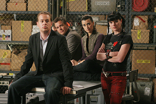 Navy CIS : Bild Cote De Pablo, Michael Weatherly, Pauley Perrette, Sean Murray