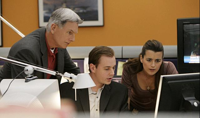 Navy CIS : Bild Cote De Pablo, Mark Harmon, Sean Murray