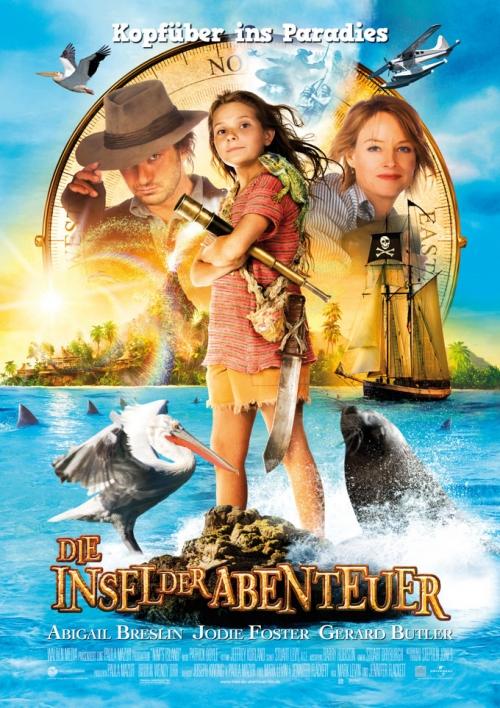 Die Insel der Abenteuer : Kinoposter