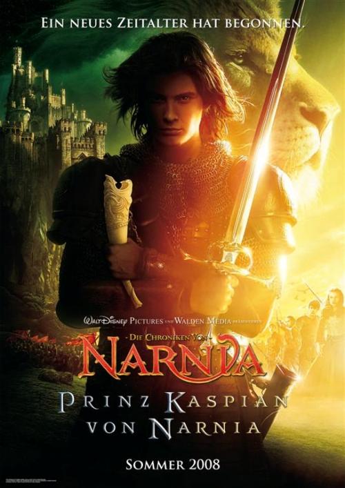 Die Chroniken von Narnia - Prinz Kaspian von Narnia : Kinoposter