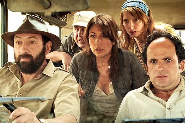 Safari : Bild Frédérique Bel, Guy Lecluyse, Kad Merad, Lionel Abelanski, Valérie Benguigui