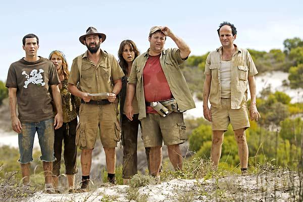 Safari : Bild David Saracino, Frédérique Bel, Guy Lecluyse, Kad Merad, Lionel Abelanski