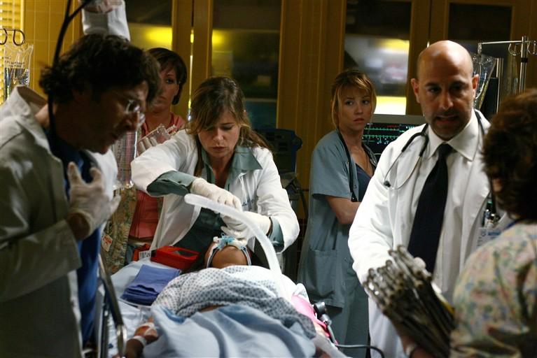 Emergency Room - Die Notaufnahme : Bild Leland Orser, Linda Cardellini, Maura Tierney, Parminder Nagra, Stanley Tucci