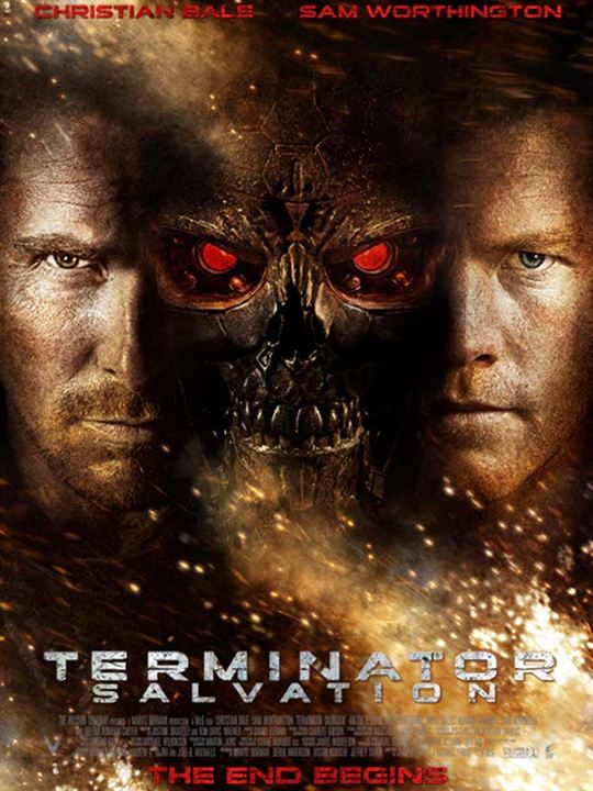 Terminator: Die Erlösung : Kinoposter Christian Bale, Sam Worthington