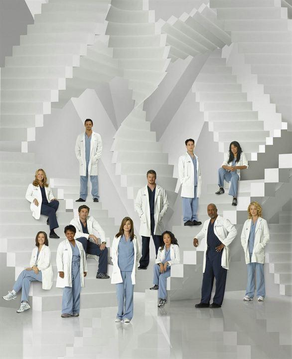 Grey's Anatomy - Die jungen Ärzte : Bild Brooke Smith, Chandra Wilson, Chyler Leigh, Ellen Pompeo, Eric Dane
