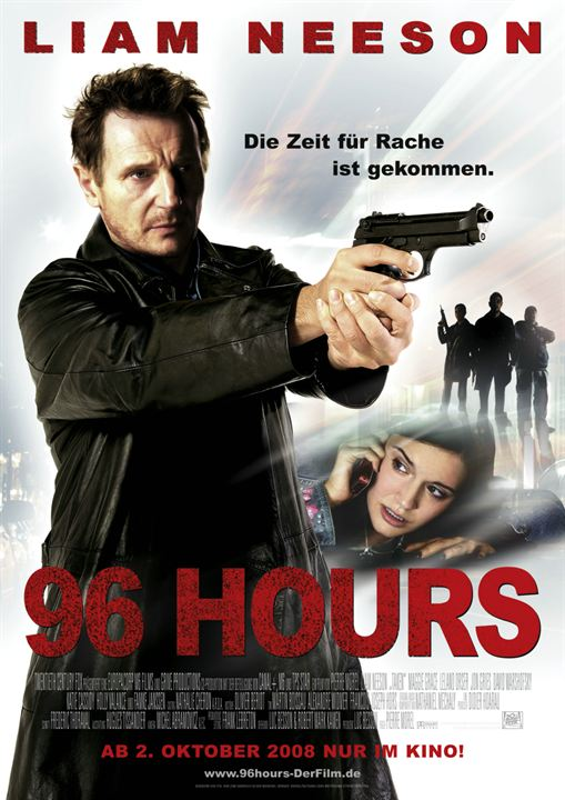 96 Hours : Kinoposter
