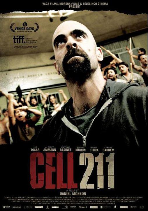 Cell 211 : Kinoposter Daniel Monzón