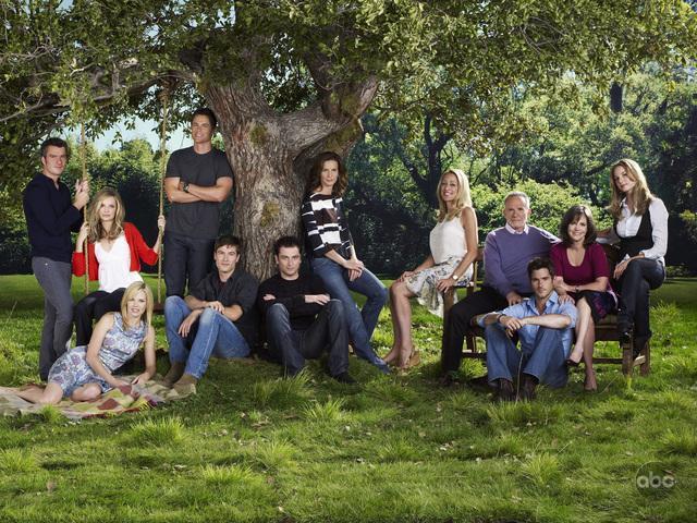 Brothers & Sisters : Bild Balthazar Getty, Calista Flockhart, Dave Annable, Emily VanCamp, Luke MacFarlane