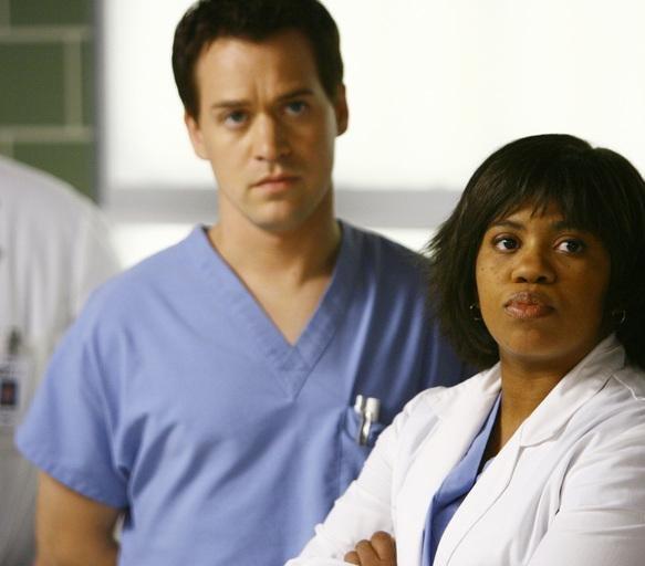 Grey's Anatomy - Die jungen Ärzte : Bild Chandra Wilson, T.R. Knight