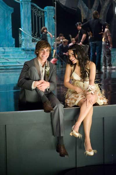 High School Musical 3 : Bild Kenny Ortega, Vanessa Hudgens, Zac Efron