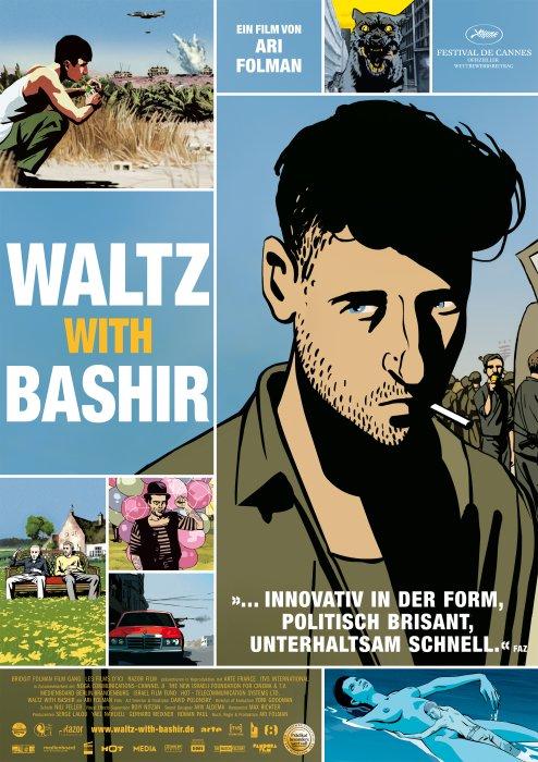 Waltz with Bashir : Kinoposter