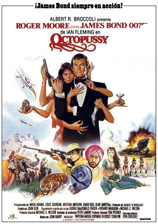 James Bond 007 - Octopussy : Kinoposter