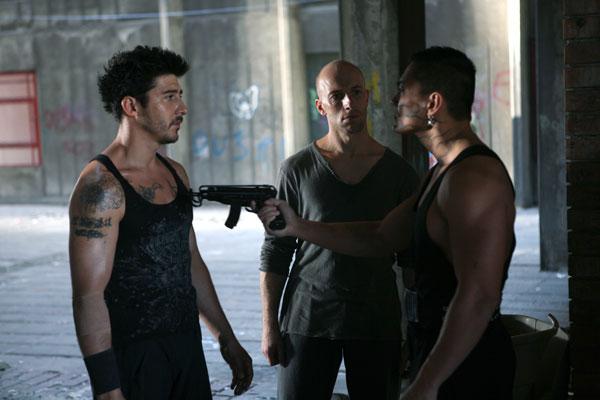 Ghettogangz 2 - Ultimatum : Bild Cyril Raffaelli, David Belle, Patrick Alessandrin