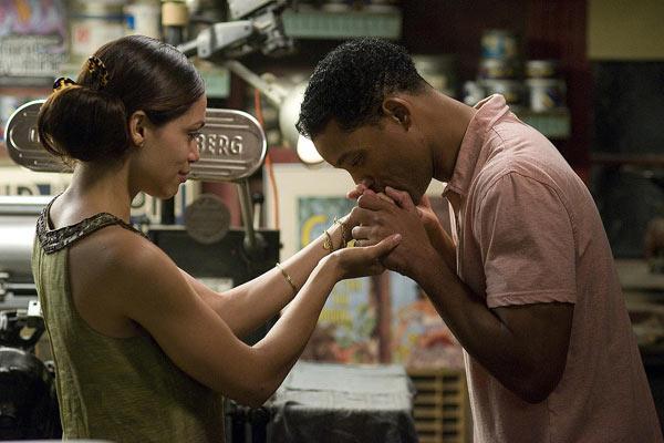 Sieben Leben : Bild Rosario Dawson, Will Smith