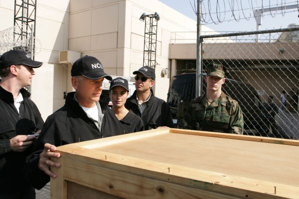 Navy CIS : Bild Cote De Pablo, Mark Harmon, Michael Weatherly, Sean Murray