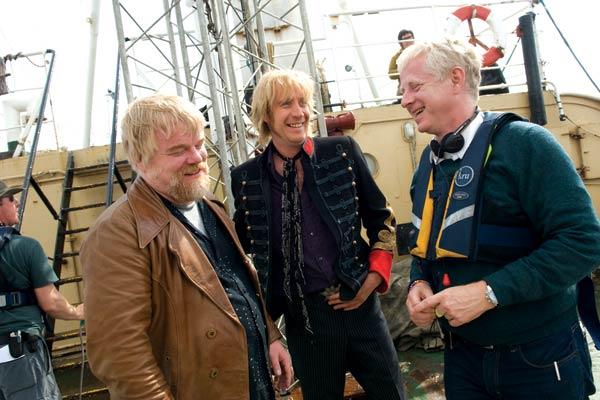 Radio Rock Revolution : Bild Philip Seymour Hoffman, Rhys Ifans, Richard Curtis
