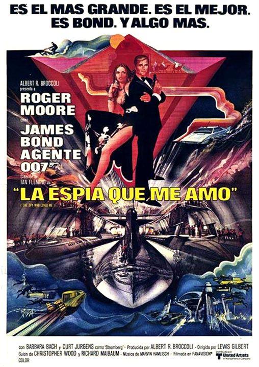 James Bond 007 - Der Spion, der mich liebte : Kinoposter