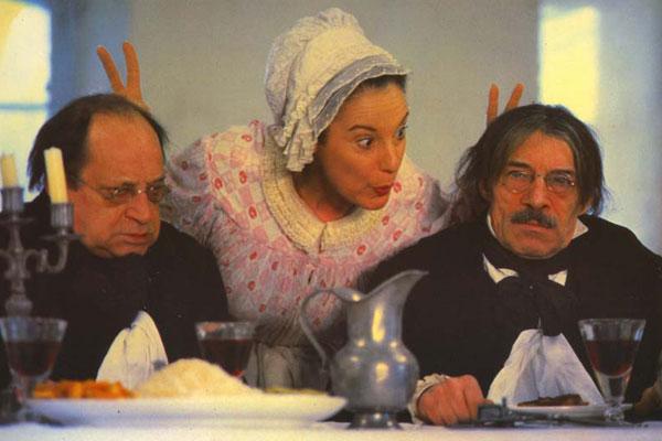 Un Bon petit diable : Bild Bernadette Lafont, Jean-Claude Brialy, Paul Préboist, Philippe Clay