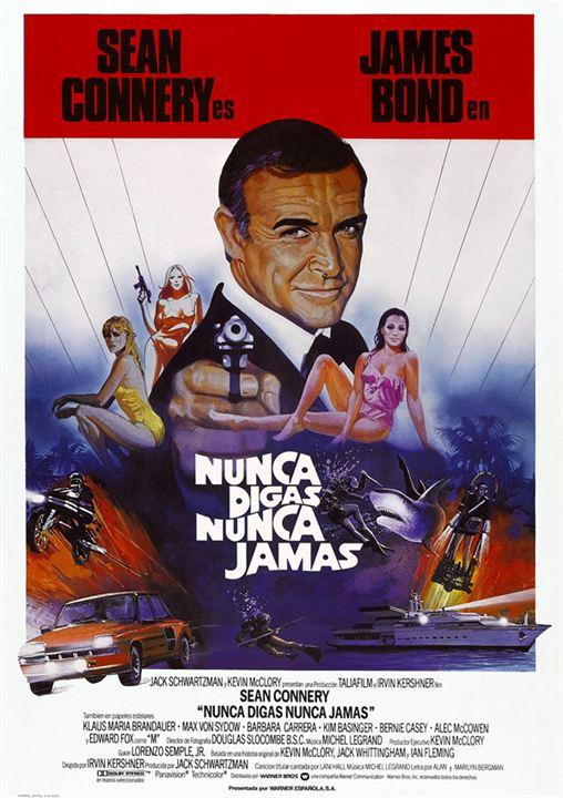James Bond 007 - Sag niemals nie : Kinoposter