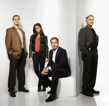 Navy CIS : Bild Cote De Pablo, Mark Harmon, Michael Weatherly, Sean Murray