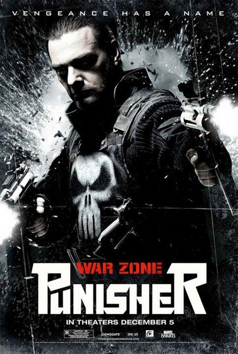 Punisher: War Zone : Kinoposter Lexi Alexander, Ray Stevenson