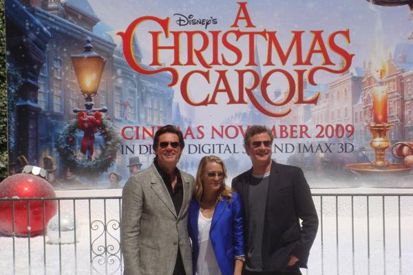 Disneys Eine Weihnachtsgeschichte : Bild Colin Firth, Jim Carrey, Robin Wright