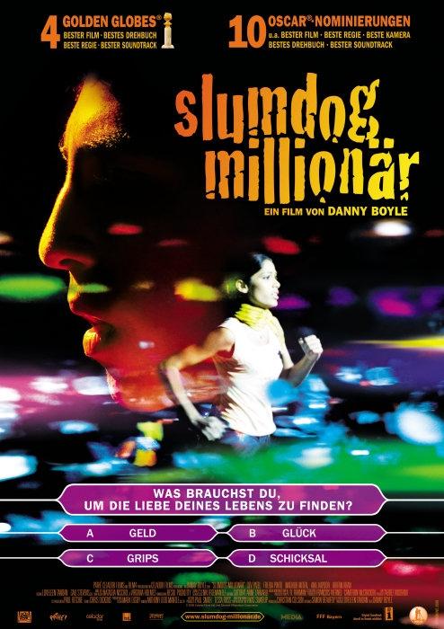 Slumdog Millionär : Kinoposter