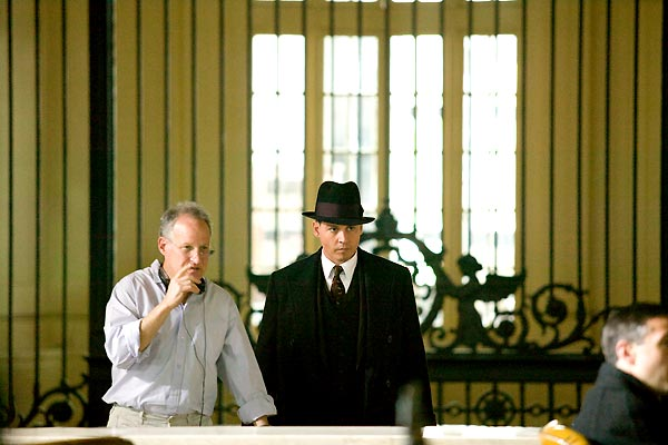 Public Enemies : Bild Johnny Depp, Michael Mann