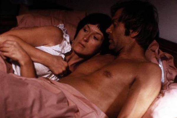 Ein Schrei in der Dunkelhei : Bild Fred Schepisi, Meryl Streep, Sam Neill