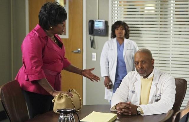 Grey's Anatomy - Die jungen Ärzte : Bild Chandra Wilson, James Pickens Jr., Loretta Devine