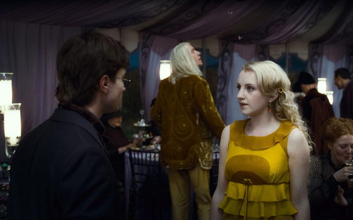 Harry Potter und die Heiligtümer des Todes - Teil 1 : Bild Daniel Radcliffe, Evanna Lynch