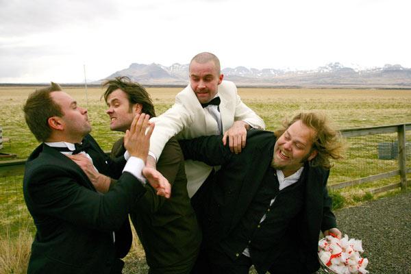 Country Wedding : Bild Björn Hlynur Haraldsson, Ólafur Darri Ólafsson, Thröstur Leó Gunnarsson, Valdis Oskarsdottir