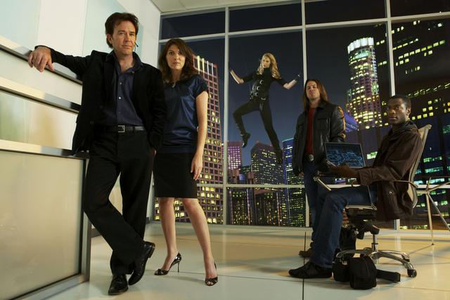 Leverage : Bild Aldis Hodge, Beth Riesgraf, Christian Kane, Gina Bellman, Timothy Hutton