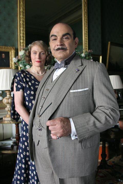 Agatha Christie's Poirot : Bild David Suchet, Geraldine James