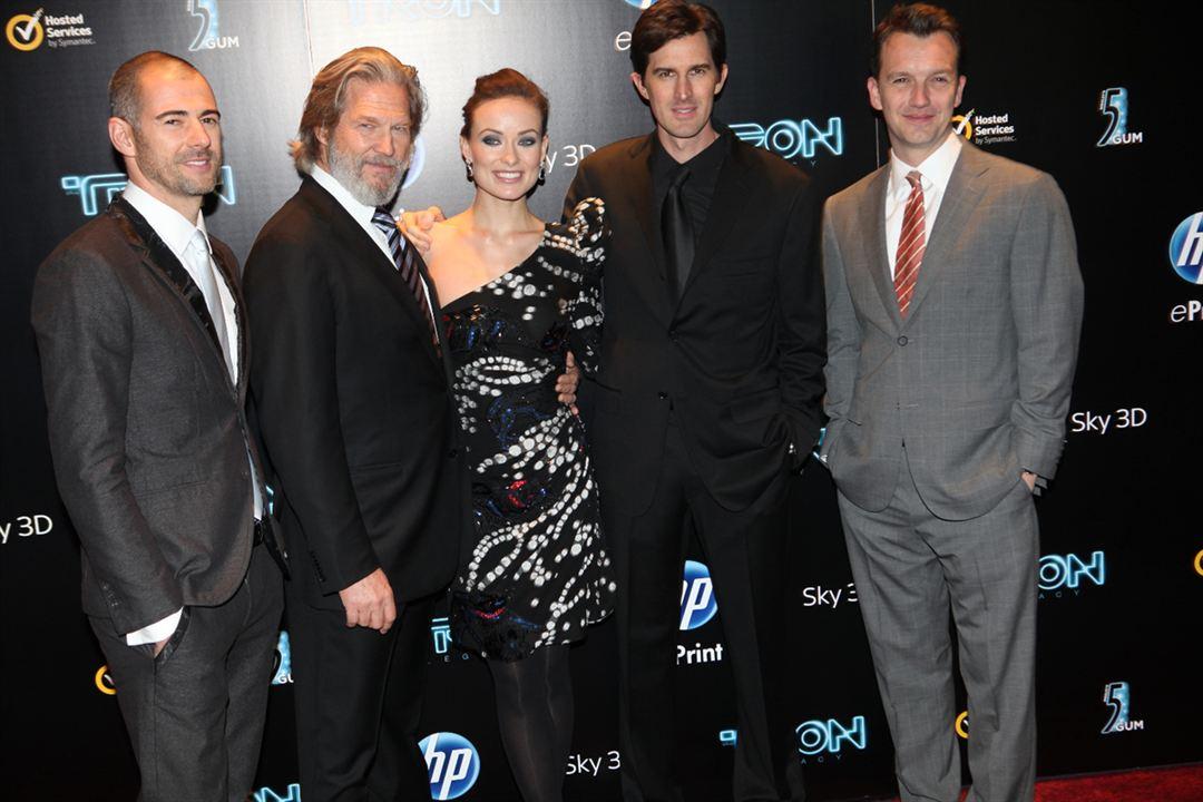Tron: Legacy : Bild Jeff Bridges, Joseph Kosinski, Olivia Wilde