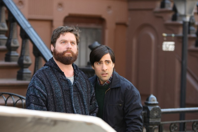 Bored To Death : Bild Jason Schwartzman, Zach Galifianakis