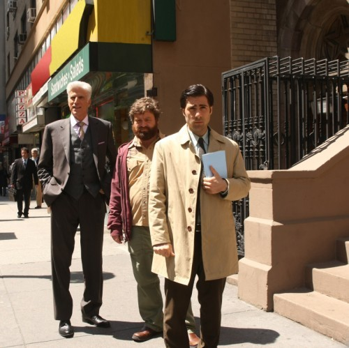 Bored To Death : Bild Jason Schwartzman, Ted Danson, Zach Galifianakis