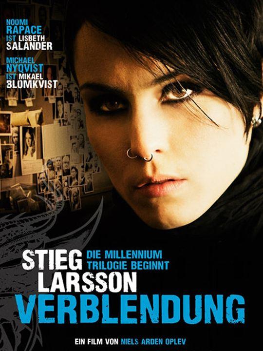Verblendung : Kinoposter Stieg Larsson
